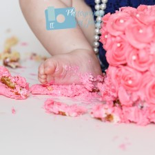 Cake Smash Photographer Holly Springs