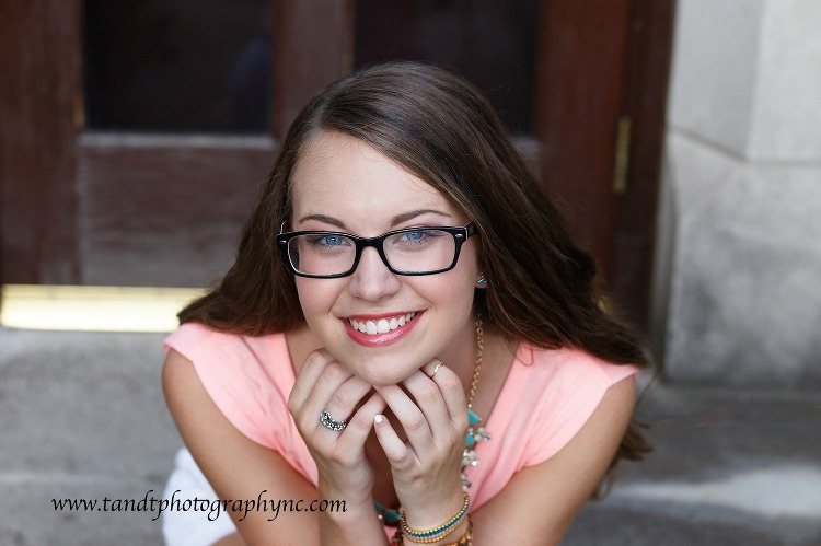 Raleigh NC Senior Portrait photographer