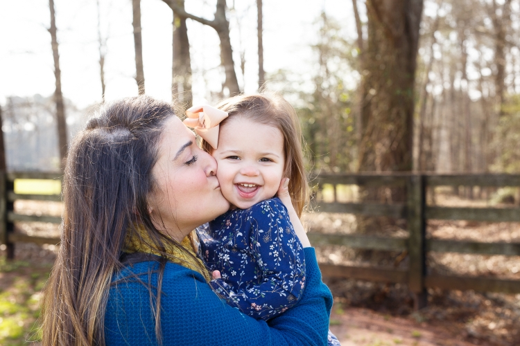 Mommy and me Photography at Sugg Farm