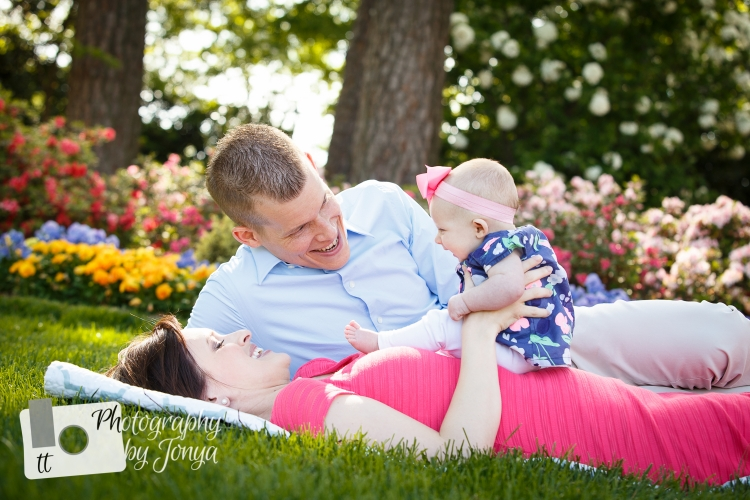 Family photography at WRAL Azalea Gardens in Raleigh NC