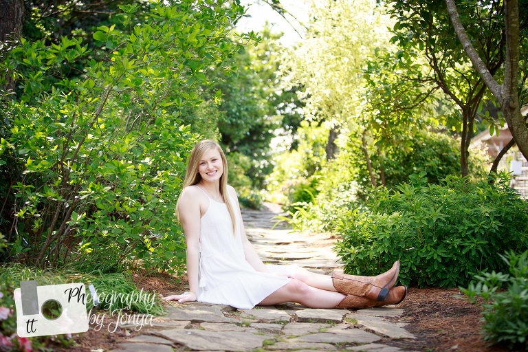 Senior portrait session in Raleigh NC