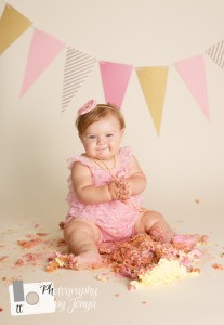 First birthday photography Raleigh
