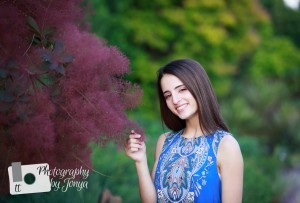 Senior pictures for Holly Springs High School in NC