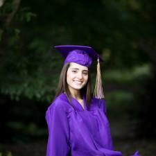 Raleigh NC Senior Portraits for Holly Springs High School