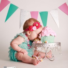 Cake smash photographer Cary NC