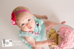 first birthday photographer, cake smash photography