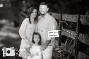 Raleigh NC Pregnancy announcement photographer