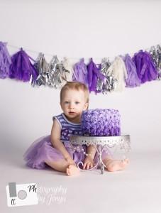 cake smash photography for girl
