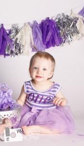 Holly Springs NC Baby photographer, cake smash