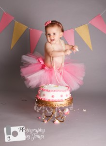 Raleigh family photographer, cake smash