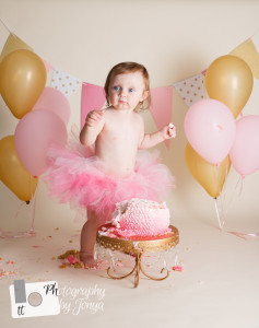 North Carolina Cake Smash Photographer