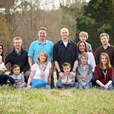 Extended Family Photography Raleigh
