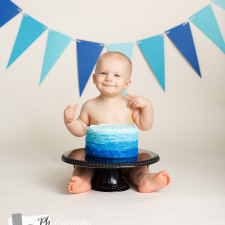 Cake Smash Photography in Cary NC