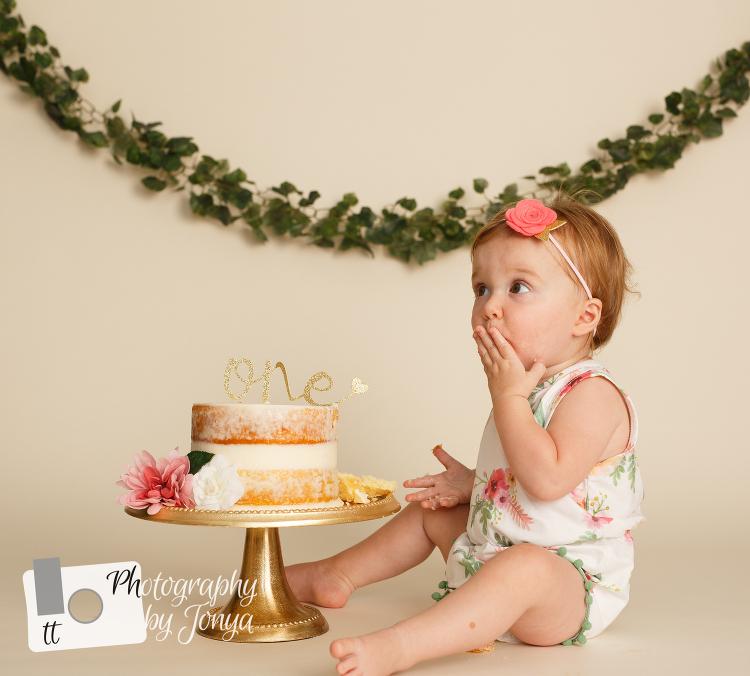 Raleigh NC Cake Smash Photographer