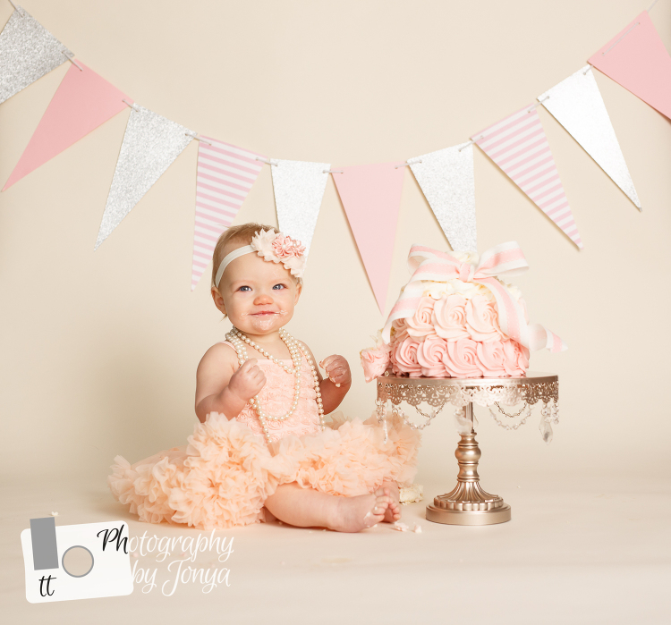 NC Cake Smash Photographer