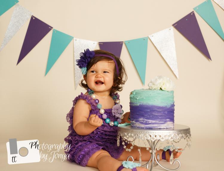 Raleigh NC 1st birthday Photographer