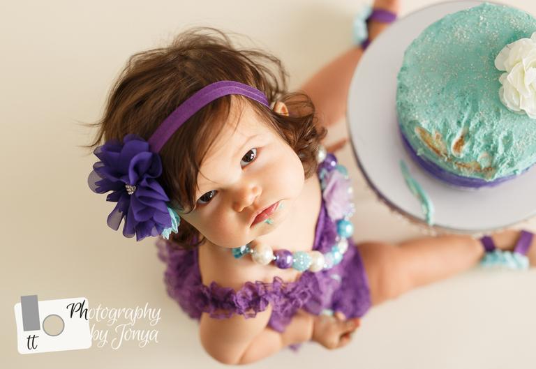 Cake Smash Photographer Raleigh
