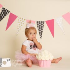 First birthday photographer Raleigh