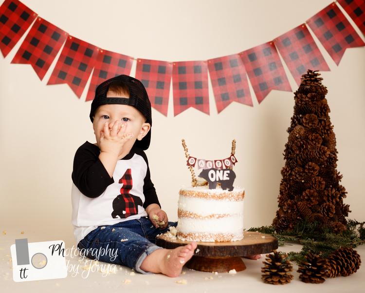1st birthday photographer Raleigh