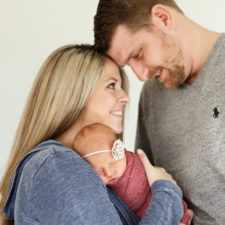 Raleigh In Home Newborn Photographer