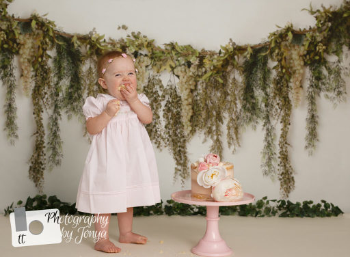 Best Raleigh cake smash photographer
