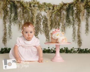 Raleigh Cake Smash Photographer