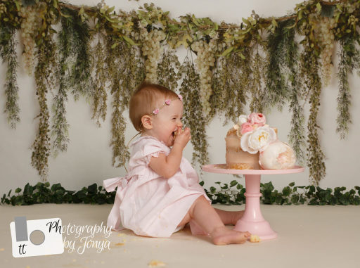 Raleigh Cake Smash Photographer