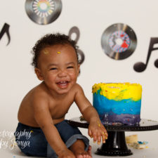 Motown Cake Smash   Cake Smash Photographer Raleigh
