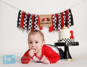 Raleigh first birthday photographer